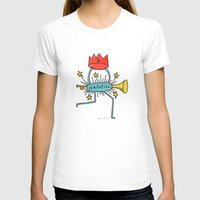 Jubilation Womens Fitted Tee White SMALL