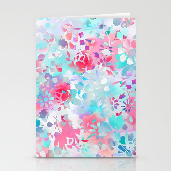 Floral Spirit 1 Stationery Card