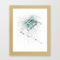 Stop Crying About The Music Industry Framed Art Print