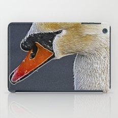 Fractalius Swan iPad Case