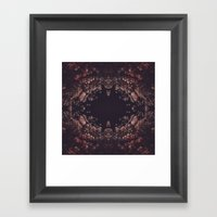 Night Blooms Framed Art Print