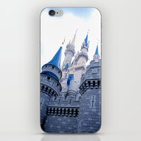 Disney Castle In Color iPhone & iPod Skin