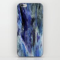 Watered Wood Impression iPhone & iPod Skin
