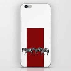 Lined Zebras iPhone & iPod Skin