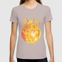 Lakers Womens Fitted Tee Cinder SMALL
