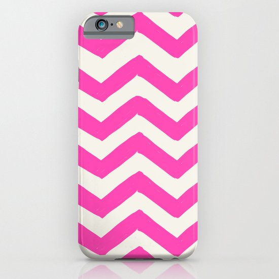 PINK CHEVRON PRINT iPhone & iPod Case
