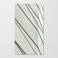 Black Lines Canvas Print