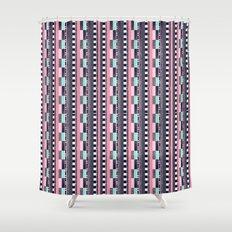 DG Aztec Love Shower Curtain