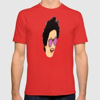 Disco Diva Mens Fitted Tee Red SMALL