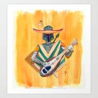 Boba Bandito Art Print
