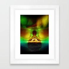 Lucid Dream Of Isolation Framed Art Print