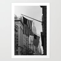 New York, NY.  Patriotism Art Print