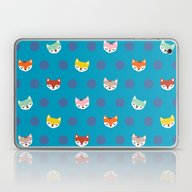 The Magical Foxes Laptop & iPad Skin