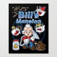 Bill's Mansion Canvas Print