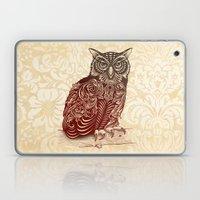 Most Ornate Owl Laptop & iPad Skin
