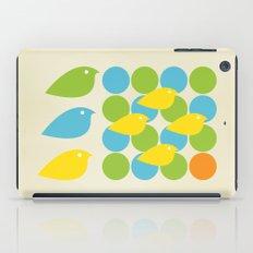 MidCentury Bird Pattern iPad Case