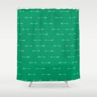 Verde Shower Curtain