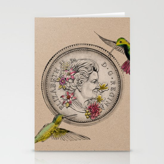 Our Beauty Queen Stationery Card