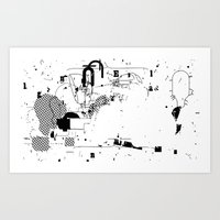 SPLIT #4 Art Print