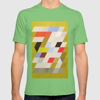 grello Mens Fitted Tee Grass SMALL