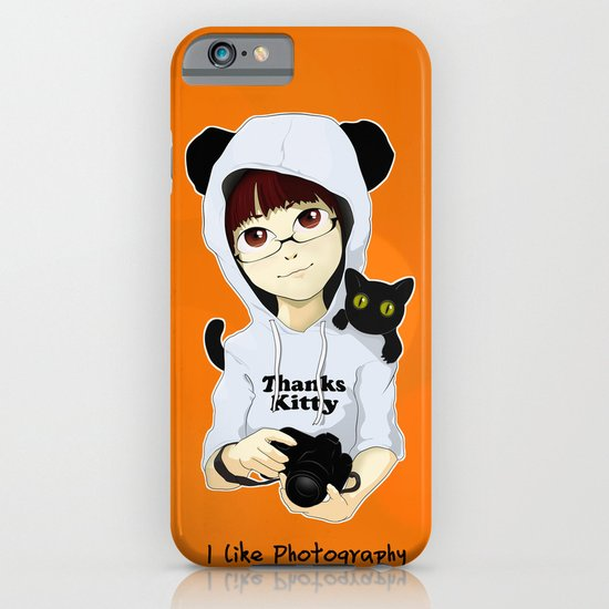 thanks kitty - i like photography iPhone & iPod Case