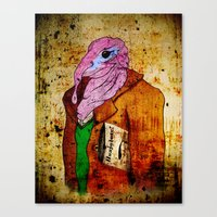 Draw me a Huajolote! Canvas Print