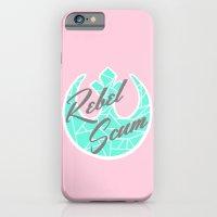 Star Wars Rebel Scum Minty Pink iPhone 6 Slim Case