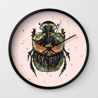 INSECT X Wall Clock