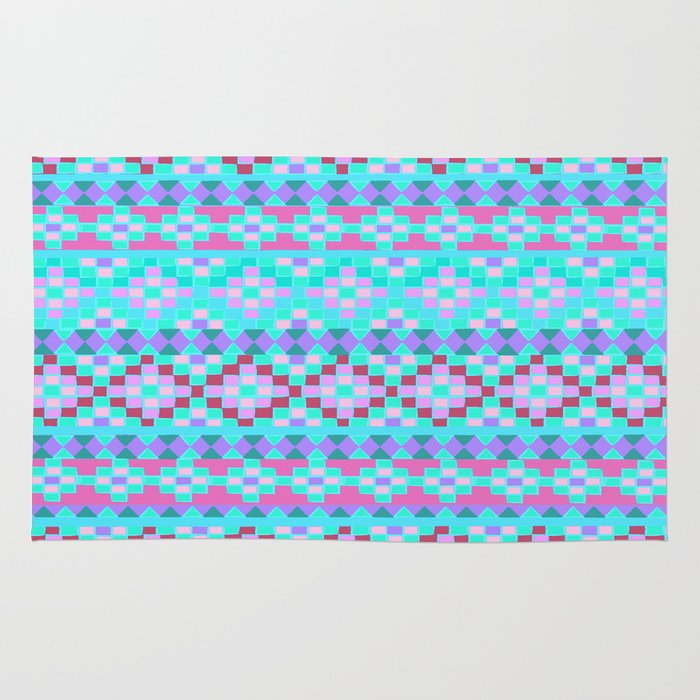 girly mexicalli rug by nika society6