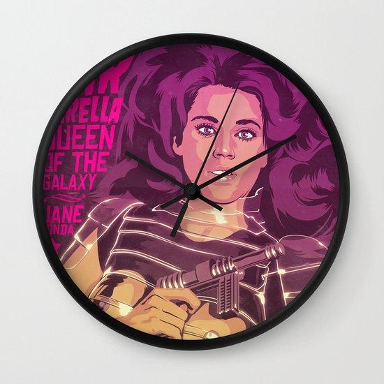 BARBARELLA Wall Clock