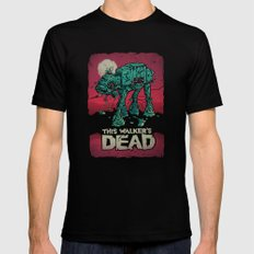 Walker's Dead V2 SMALL Mens Fitted Tee Black