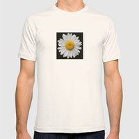 Plain And Simple Mens Fitted Tee Natural SMALL