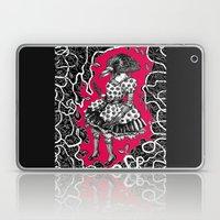 Crow Serie :: Aglaé (red) Laptop & iPad Skin