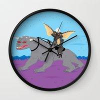The Halloween Series - S… Wall Clock