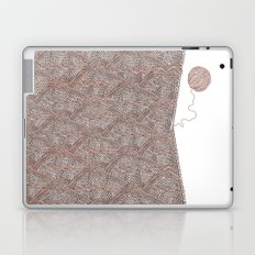Knitting experience Laptop & iPad Skin