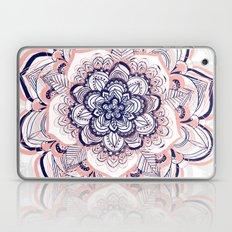 Woven Dream - Pink, Navy & White Mandala Laptop & iPad Skin