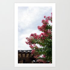 Common Crapemyrtle 2 Art Print