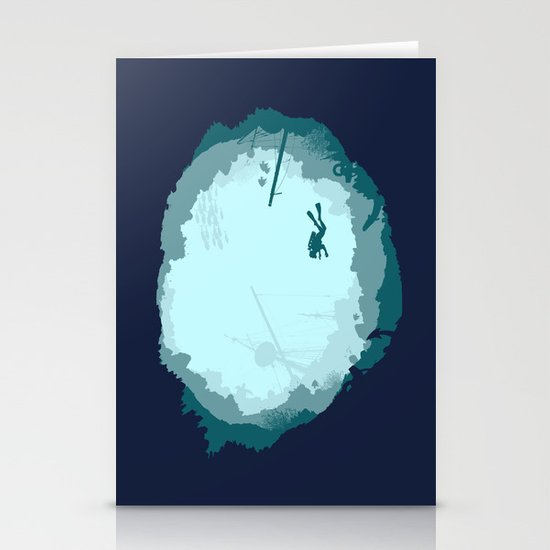 Dive Deep Stationery Card