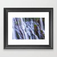 Burney Falls Framed Art Print