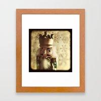 The Nutcracker King Framed Art Print