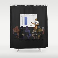 I HAVE THE POWERPOINT! Shower Curtain
