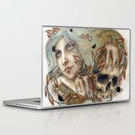 Laptop & iPad Skin featuring Savia by Iris Illustration