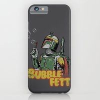 iPhone Cases featuring Bubble Fett by Hillary White