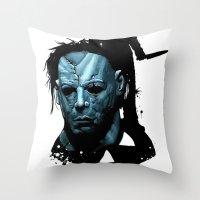 Halloween : Monster Madn… Throw Pillow
