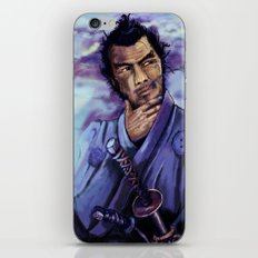 Toshiro Mifune digital painting. iPhone & iPod Skin