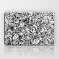 Detailed Rectangle, Blac… Laptop & iPad Skin