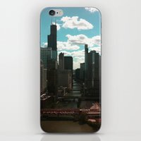 Chicago River View iPhone & iPod Skin