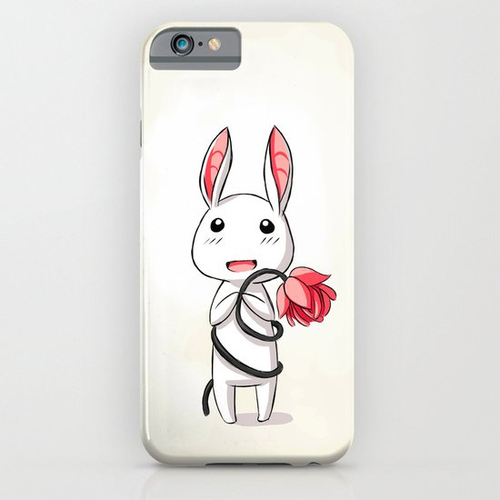 Bunny Flower iPhone & iPod Case
