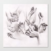 Need A Hand? Canvas Print