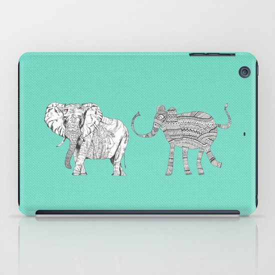 two ways to see one elephant iPad Case